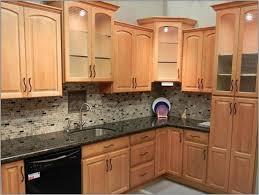 oak kitchen ideas what color tile with oak cabinets memsaheb
