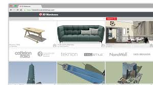 3d modeling for everyone sketchup need in 3d warehouse the world s biggest library of free 3d models and anyone can use 3d warehouse to store and share models
