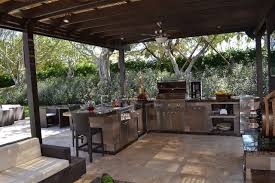 pergola outdoor kitchen outdoor kitchen and pergola project in south florida traditional