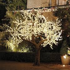 indoor decorative trees with lights lighting decor