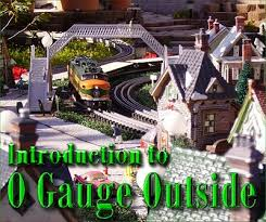 Backyard Trains For Sale by Introduction To O Gauge Outside