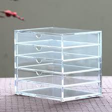 muji bureau muji bureau organisateur acrylique transparent boîte à bijoux boîte