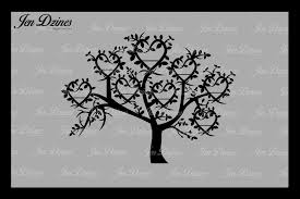 family tree 8 names svg dxf eps png by design bundles