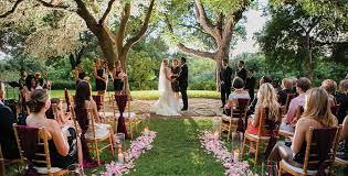 cheap outdoor wedding venues why are the banquet halls more preferred for wedding these days