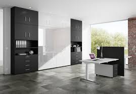 Home Office Furniture Modern Home Office Furniture In Black And White Modern Home Office