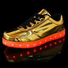 gold light up sneakers light up shoes online store by flashshoe flashshoes flashshoes com