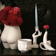 Vases Com Edie Ceramic White Vase Pottery Jonathan Adler