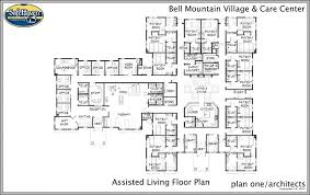 Assisted Living Facility Floor Plans Safe Haven Healthcare Bell Mountain Village And Care Center