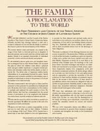 family proclamation why aren t the women included in this rational faiths mormon