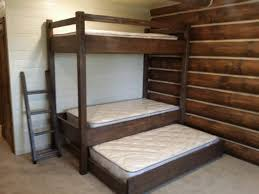 Make Cheap Loft Bed by Bunk Beds Twin Bunk Beds With Trundle How To Make A Loft Bed