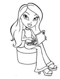 bratz coloring pages coloring coloring pages