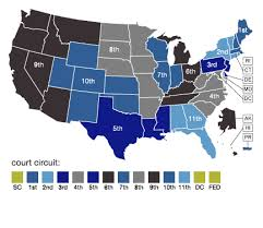 federal circuit court map court decisions digest workplace fairness