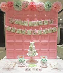 baby shower backdrops baby showers ideas