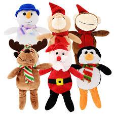 bulk christmas bulk assorted plush christmas friends 9 in at dollartree