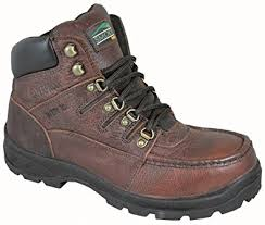 s boots amazon uk smoky mountain davy s brown wellington with steel toe boot