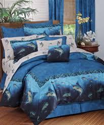 Ocean Bedspread Tropical Fish Comforters Comforters Decoration