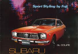 classic subaru wagon 1971 1972 subaru gl dl u0026 wagon sales catalog