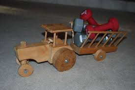 indestructable wooden tractor toy 11 steps
