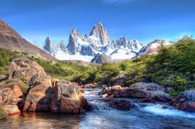 snow sky photography colors mountain cool lovely river