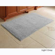 Bathroom Carpets Rugs Carpet Rug The Softest Cotton Bathroom Rug Hammacher Schlemmer