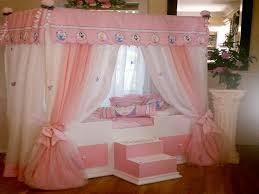 Girls Princess Canopy Bed by Canopy Bed Design Pretty Cute Disney Princess Canopy Bed Disney