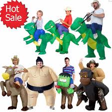 Rex Halloween Costumes Halloween Inflatable Child Costume Kids Party Dinosaur