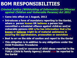 Garda Vetting U0026 The National Vetting Bureau Acts 2012 To 2016 by Child Protection Procedures For Post Primary Schools Centres Of