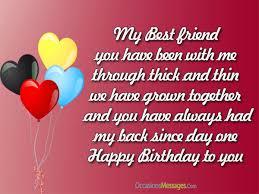 birthday messages for best friend birthday pinterest best