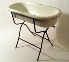 Antique Galvanized Bathtub Baby Bathtub Stand Foter
