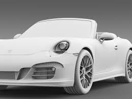 Porsche 911 Carrera - porsche 911 carrera 4 gts cabriolet 991 2015 by creator 3d 3docean
