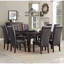 9 dining room set 9 pieces dining room sets dact us