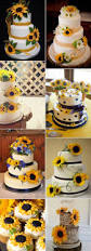 best 25 sunflower wedding cakes ideas on pinterest country