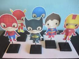 batman centerpieces centerpieces 6 baby centerpieces