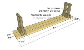 Plans For A Picnic Table With Separate Benches by Picnic Table With Detached Benches Plans Myoutdoorplans Free