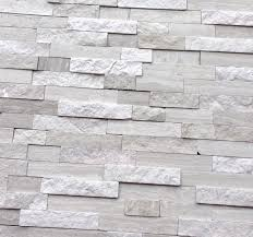 white quarry splitface marble mosaic tile