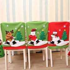 christmas chair back covers christmas chair cover buy cheap christmas chair cover from