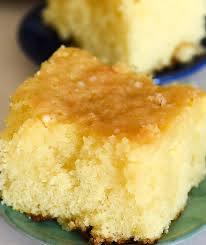 luscious lemon poke cake from scratch the recipe wench