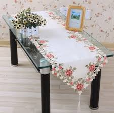 vezon sale 40 200cm polyester floral table runner