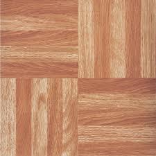 home impressions 12 x 12 wood parquet pattern vinyl floor tile