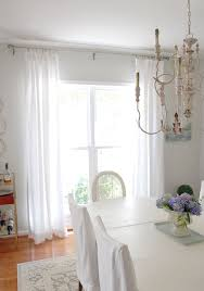 Dining Room Curtains Dining Room Updates Including New Linen Draperies 11 Magnolia Lane