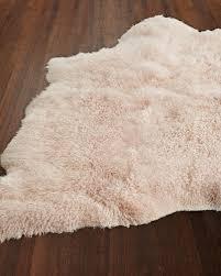 mina sheepskin rug 5 u0027 x 7 u0027