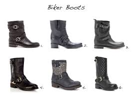mens black leather biker boots boots