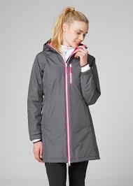 helly hansen women s long belfast winter rain jacket