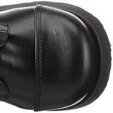 demonia trashville 502 men u0027s cold lined calf length boots black