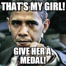 My Girl Memes - that s my girl pissed off obama meme on memegen