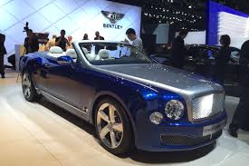 blue bentley bentley grand convertible concept is set for production auto express