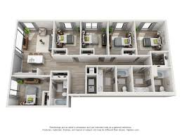 5 bedroom house floor plans the ruckus lofts austin apartments