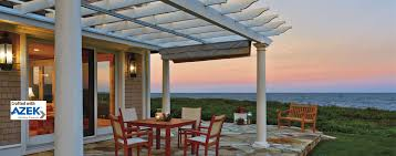 Lattice Pergola Roof by Walpole Woodworkers Wood Fence Vinyl Fence Pergolas Arbors Gates