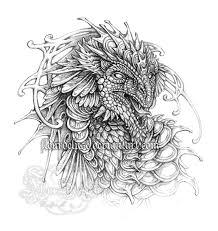 dragon sketch by fleurdelyse on deviantart