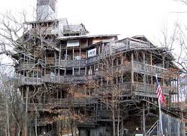 in crossville tn world s tallest treehouse built from reclaimed wood house